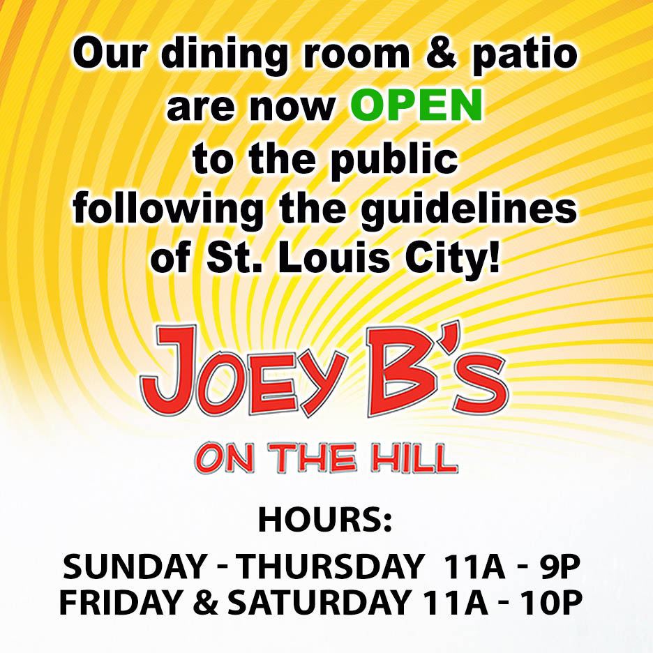 Joey B S On The Hill 314 645 7300